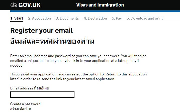 วิธีการทำวีซ่าประเทศอังกฤษ อย่างละเอียด UK VISA