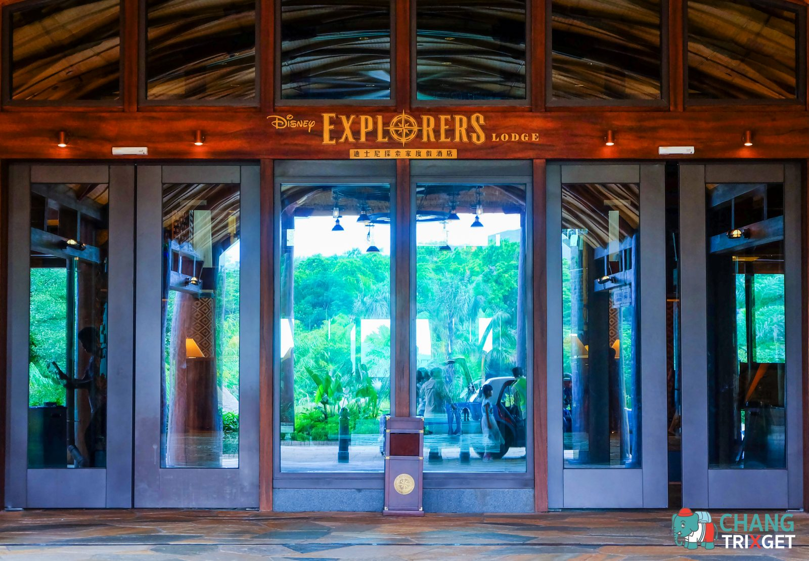 รีวิว Disney Explorers Lodge