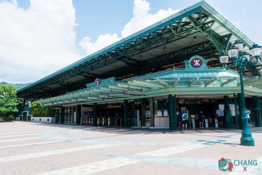 สถานีรถไฟหน้า ฮ่องกงดิสนีย์แลนด์