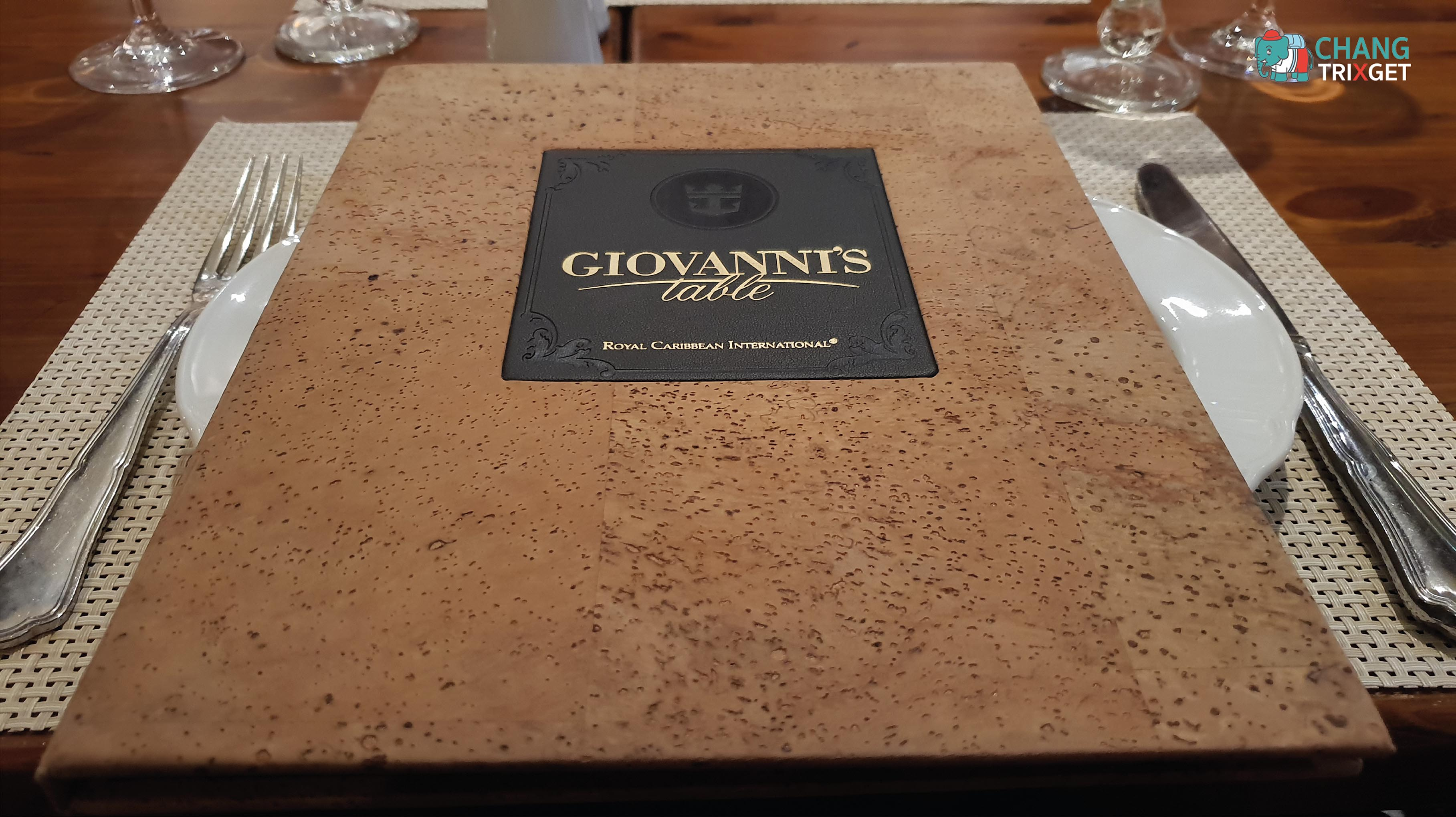 เมนูห้องอาหาร GIOVANI