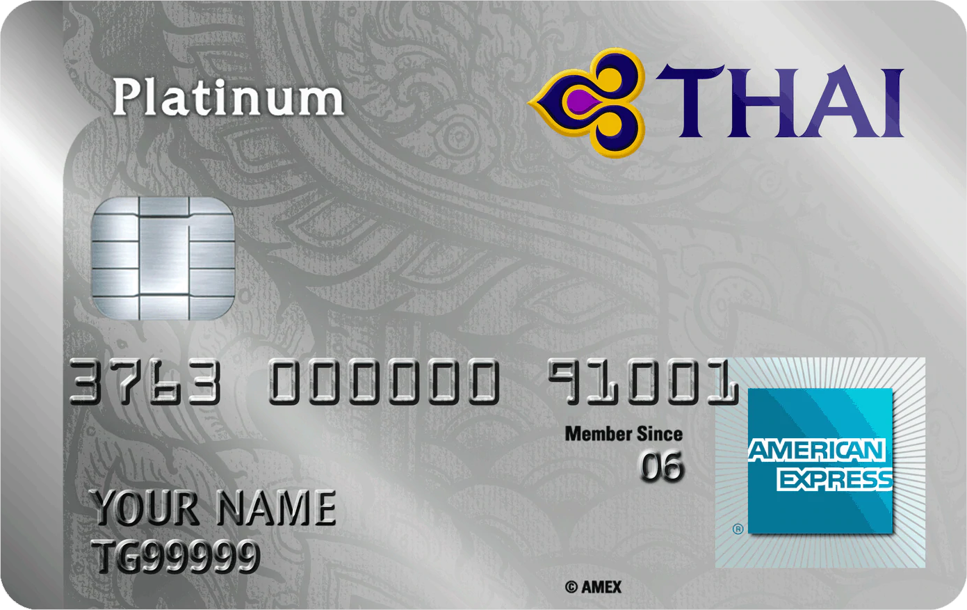 Thai American Express Credit Card