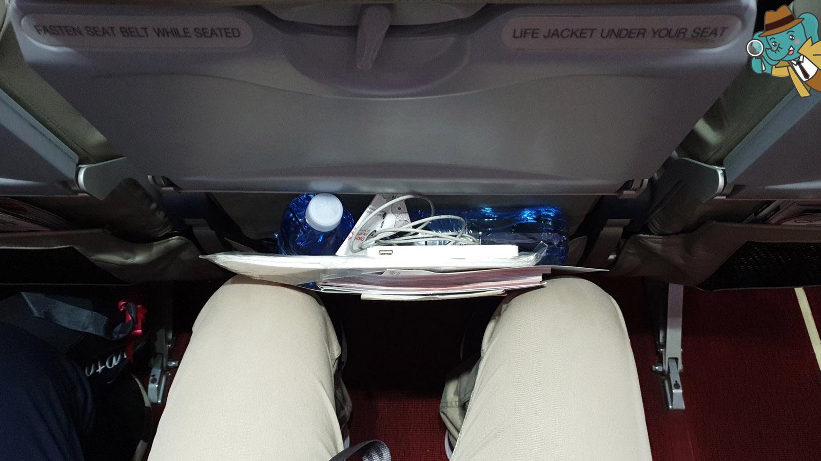 ความกว้าง ที่นั่ง Thai AirAsia X