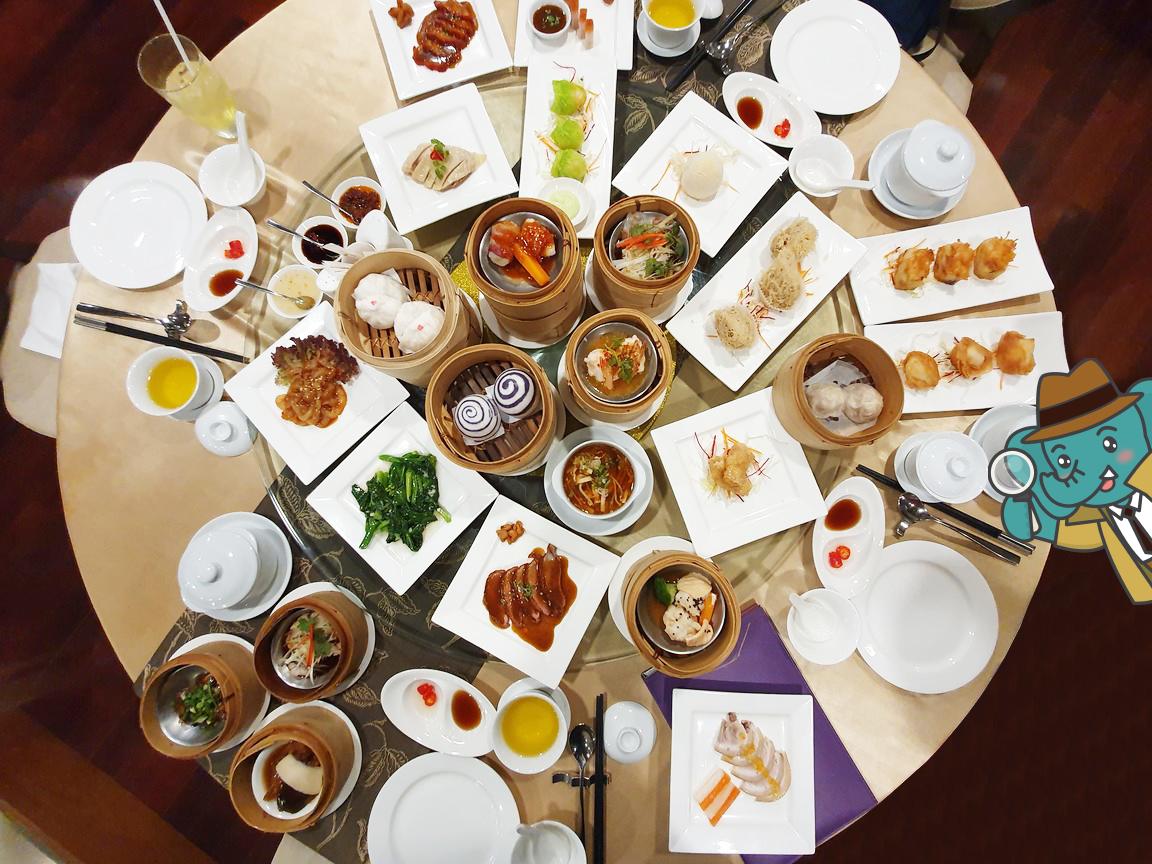 ติ่มซำ บุฟเฟต์ อาหารจีน เป็ดปักกิ่ง
